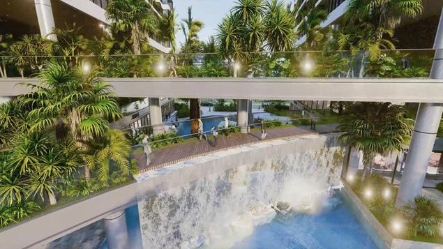 Dự án căn hộ tại Long Biên sở hữu hệ thống suối và thác nước liên hoàn hàng trăm mét - Ảnh 5.