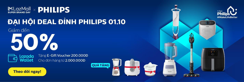 Mua nhanh kẻo lỡ, Philips giảm đồng loạt 50% từ nồi chiên không dầu đến bàn ủi chính hãng - Ảnh 1.
