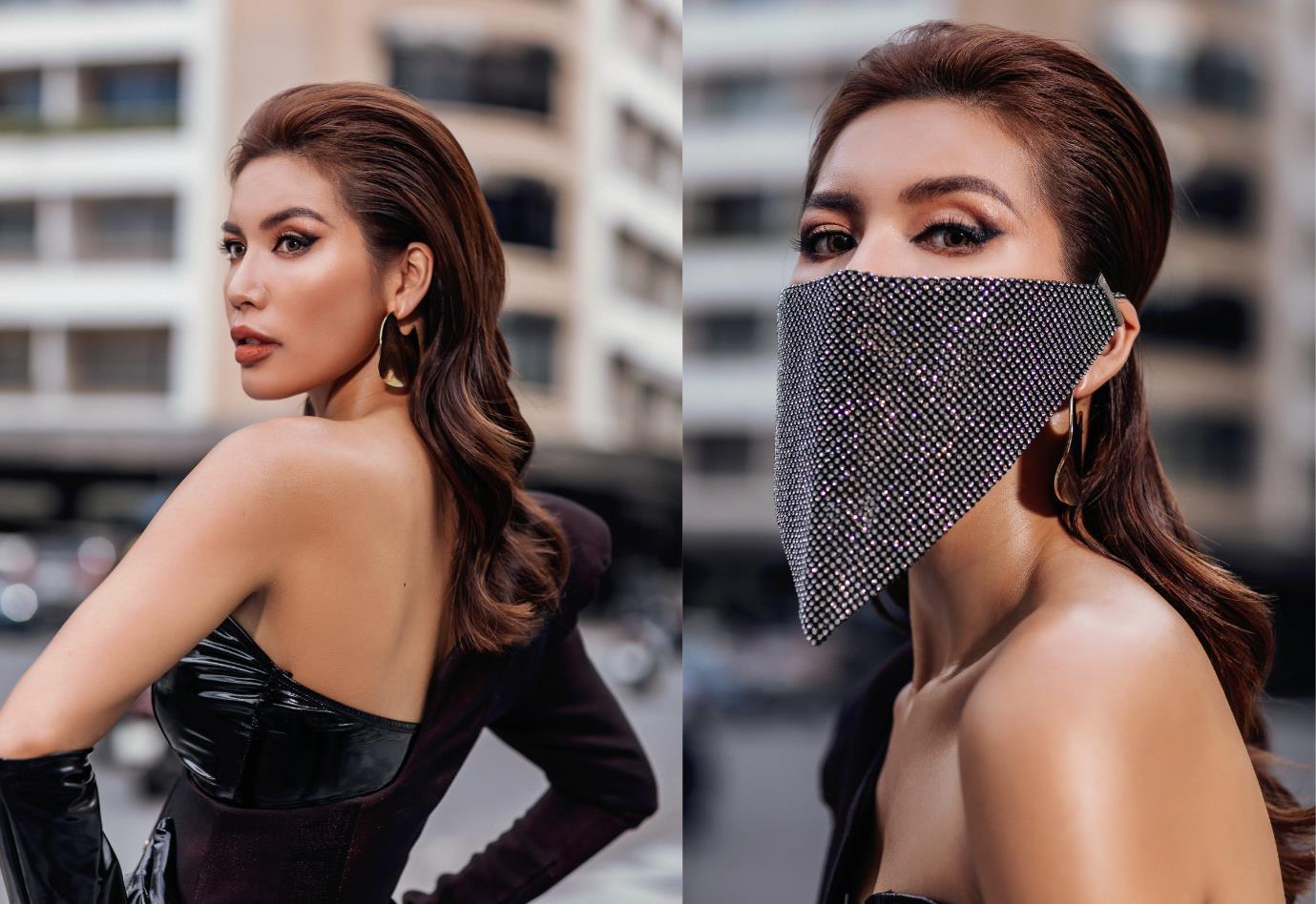 Diện đồ street style vẫn catwalk đầy thần thái, bộ đôi Hà Anh - Minh Tú vừa trở lại đã khuấy đảo làng thời trang Việt - Ảnh 1.