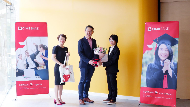 Bí kíp chinh phục học bổng toàn phần gần 1,65 tỷ VND từ Ngân hàng CIMB của sinh viên năm nhất Sài Gòn - Ảnh 1.