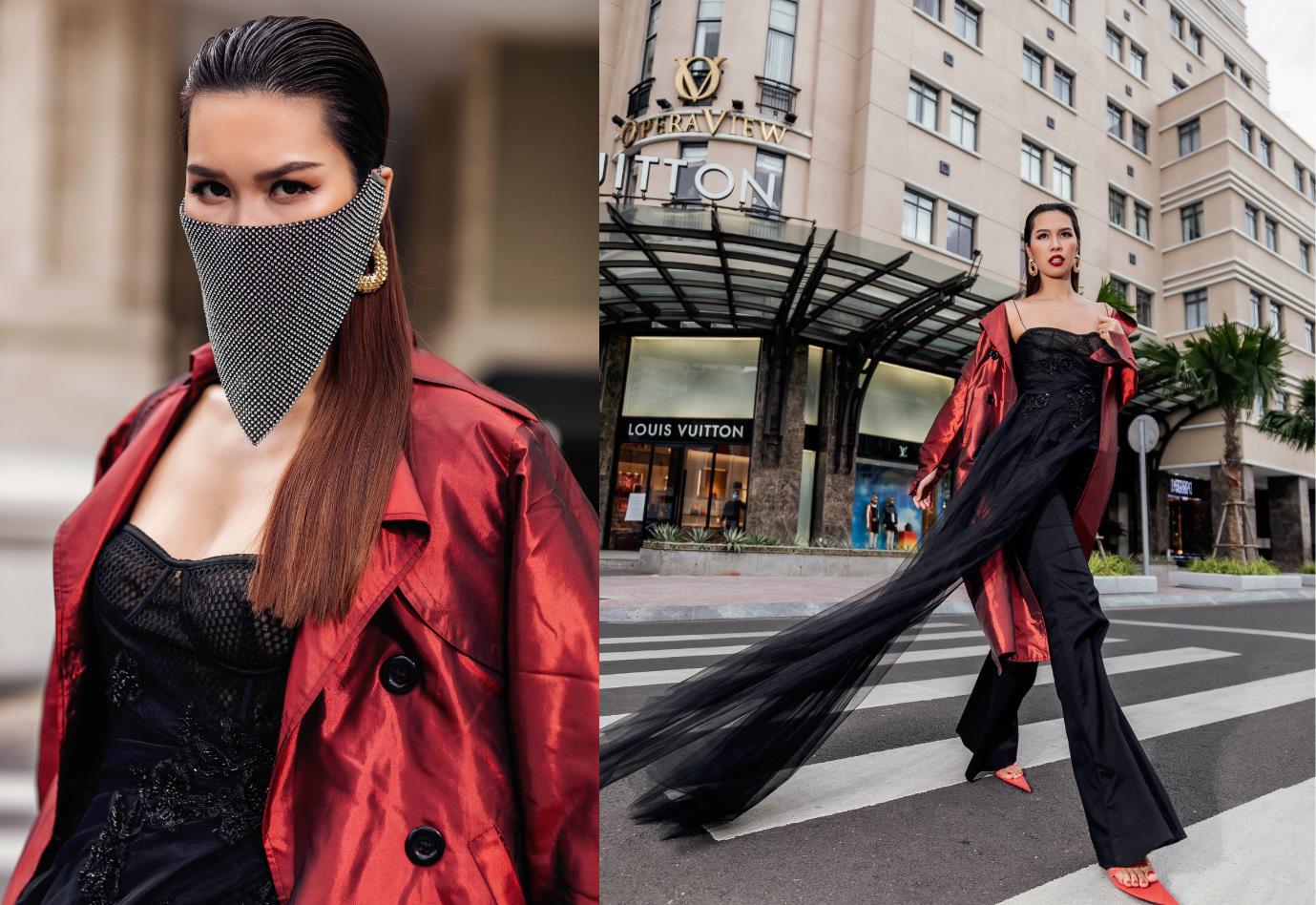 Diện đồ street style vẫn catwalk đầy thần thái, bộ đôi Hà Anh - Minh Tú vừa trở lại đã khuấy đảo làng thời trang Việt - Ảnh 4.