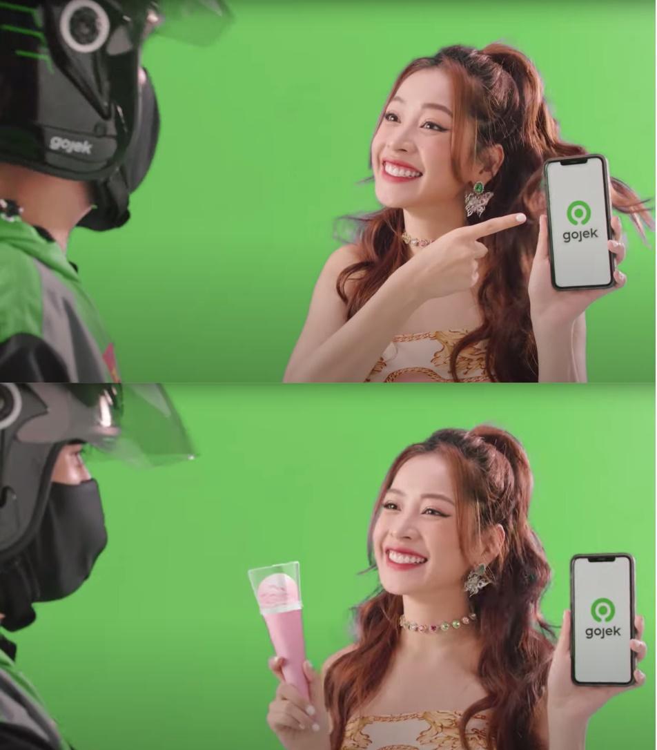 Chi Pu ra mắt MV độc đáo với phông xanh chưa từng có tiền lệ trong Vpop - Ảnh 4.