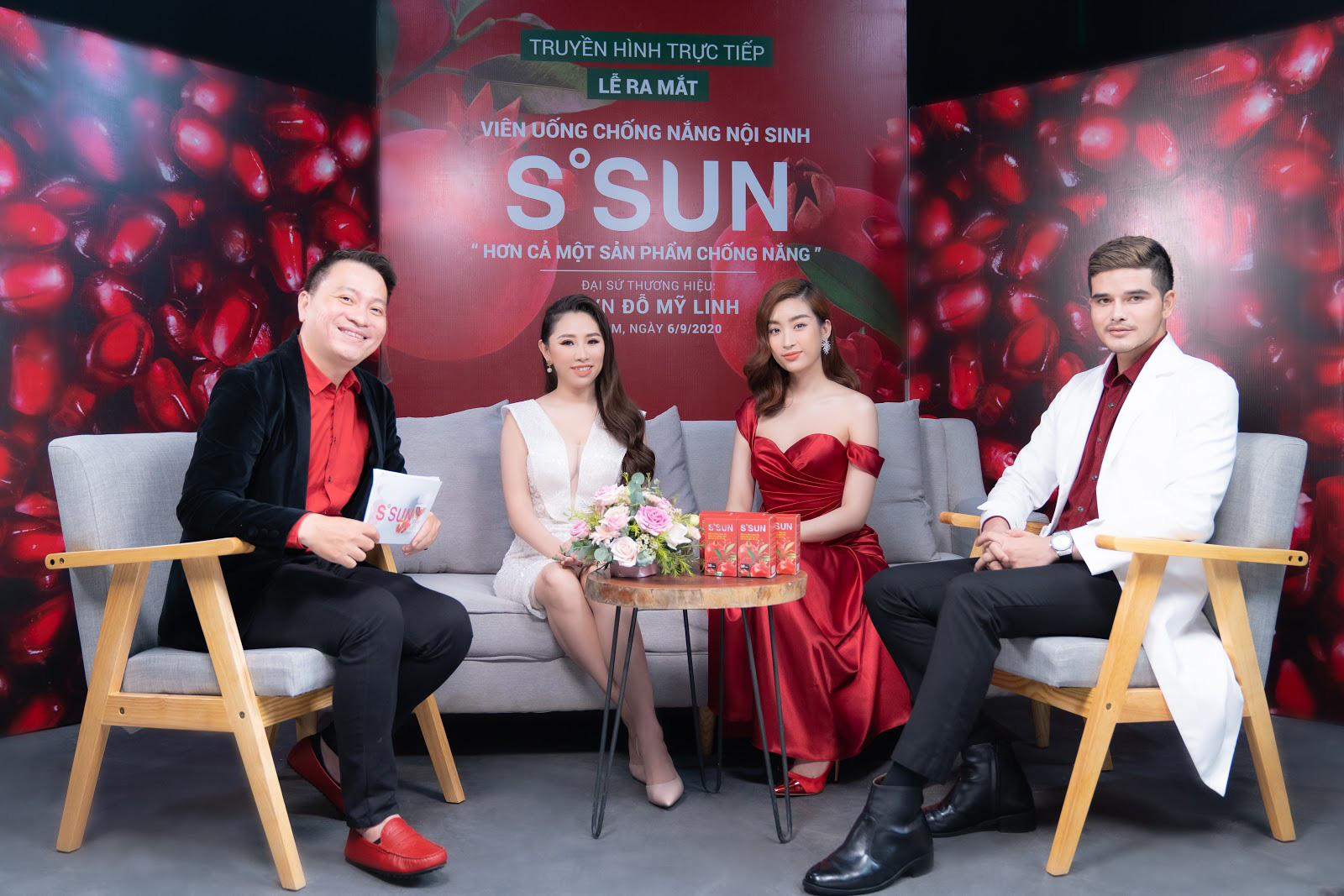 Hoa hậu Đỗ Mỹ Linh livestream chia sẻ bí quyết chăm sóc da từ TPBVSK S'SUN - Ảnh 1.
