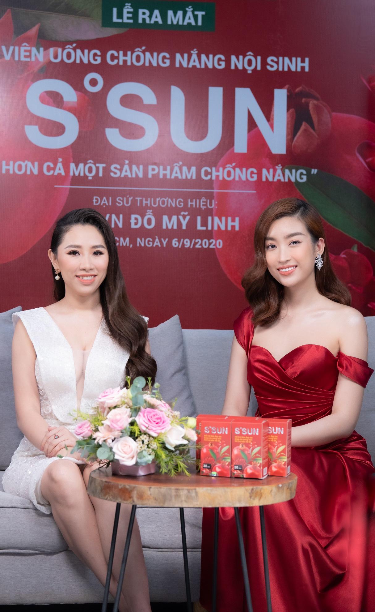 Hoa hậu Đỗ Mỹ Linh livestream chia sẻ bí quyết chăm sóc da từ TPBVSK S'SUN - Ảnh 2.