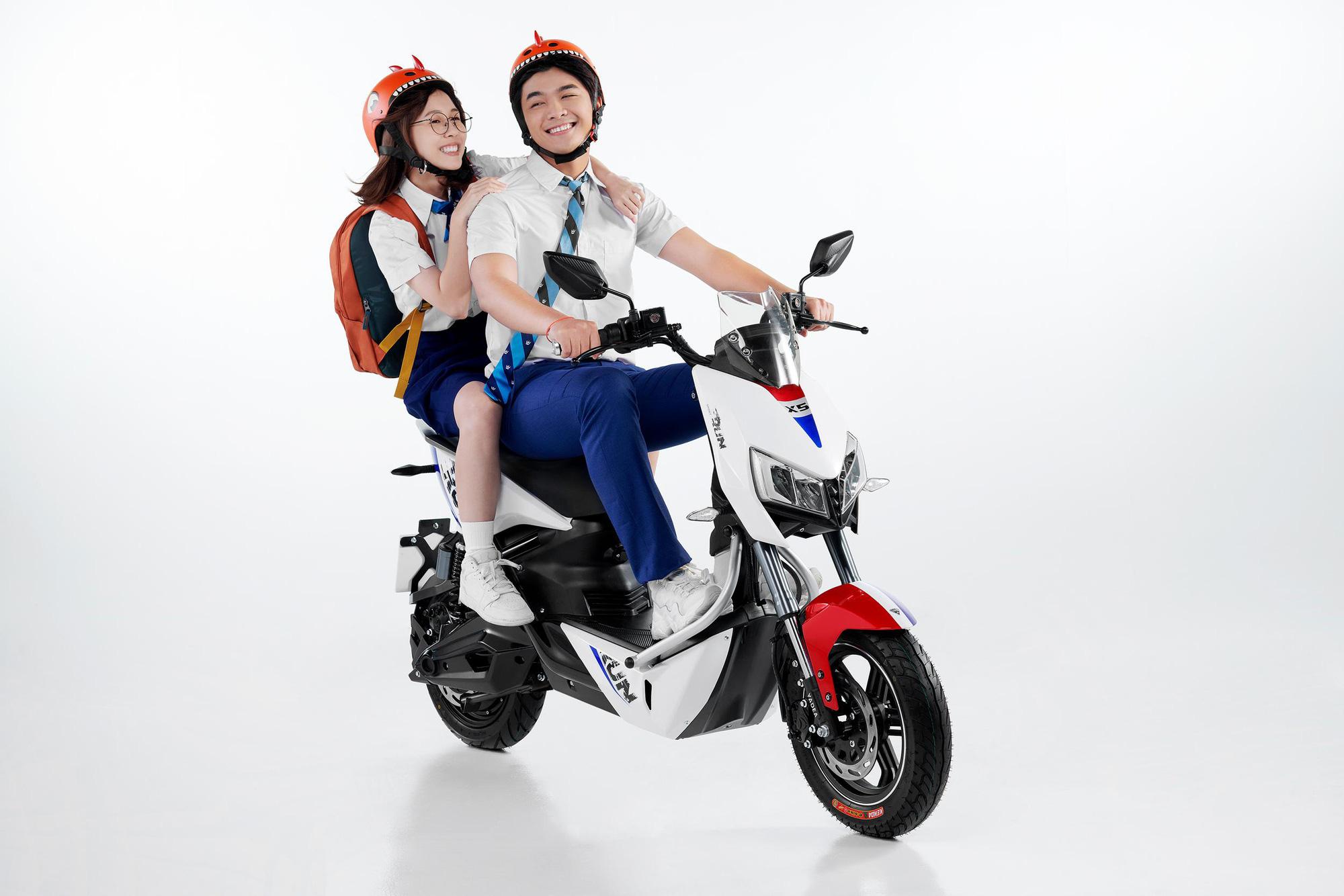 Top 3 mẫu xe máy điện được học sinh ưa chuộng cho năm học mới - Ảnh 4.