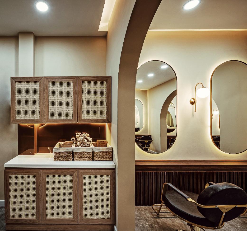 Bật mí hair salon siêu xinh tại thành phố Hồ Chí Minh - Ảnh 5.