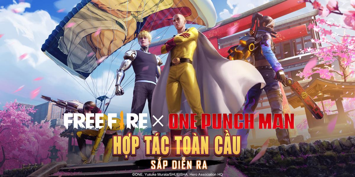 Sự kết hợp giữa game Free Fire và siêu anh hùng Nhật Bản One-Punch Man - Ảnh 1.