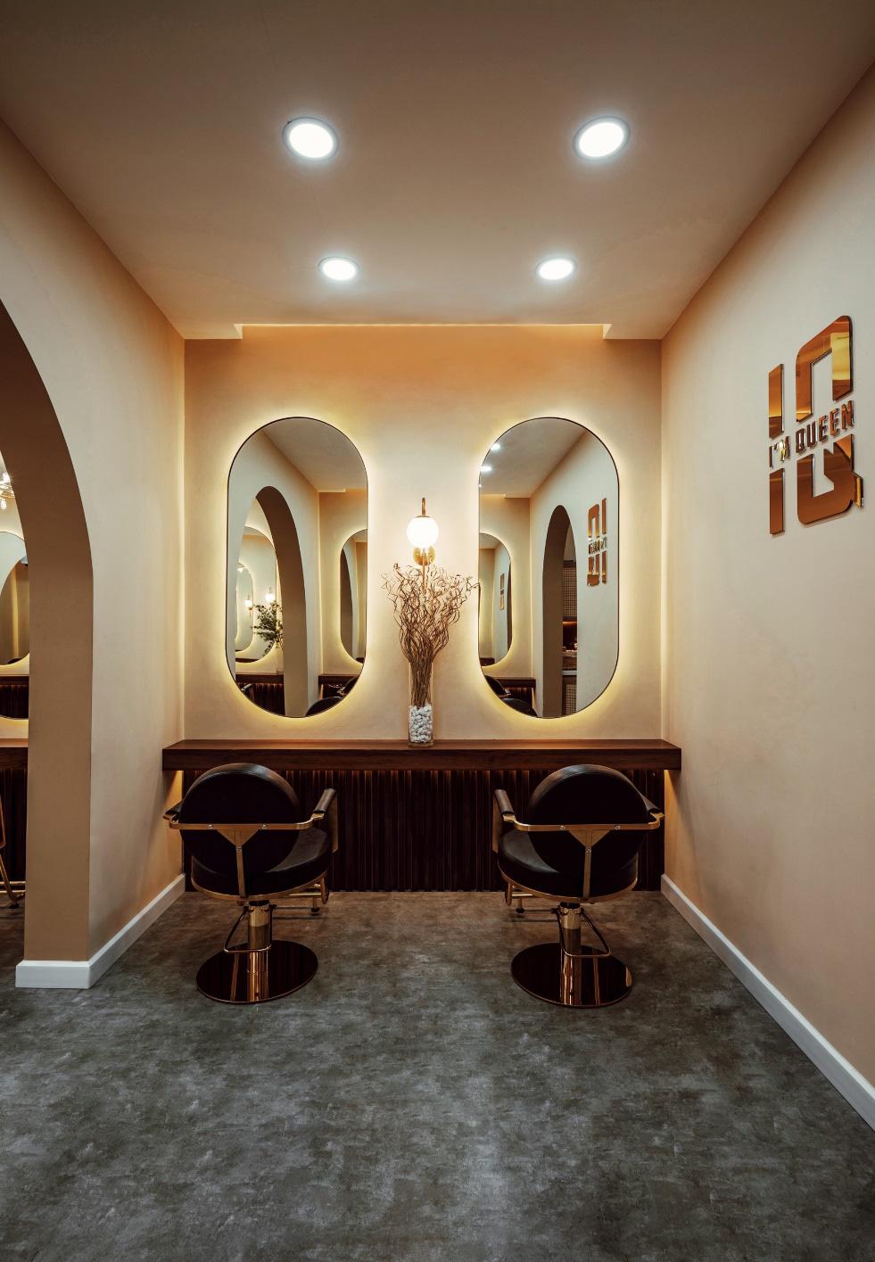 Bật mí hair salon siêu xinh tại thành phố Hồ Chí Minh - Ảnh 3.