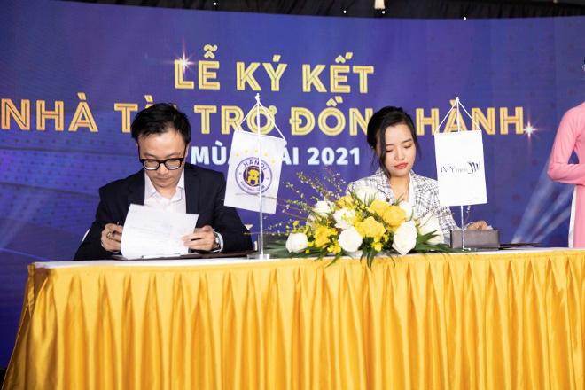 IVY men chính thức trở thành Nhà tài trợ trang phục cho CLB Bóng Đá Hà Nội mùa giải 2021 - Ảnh 4.