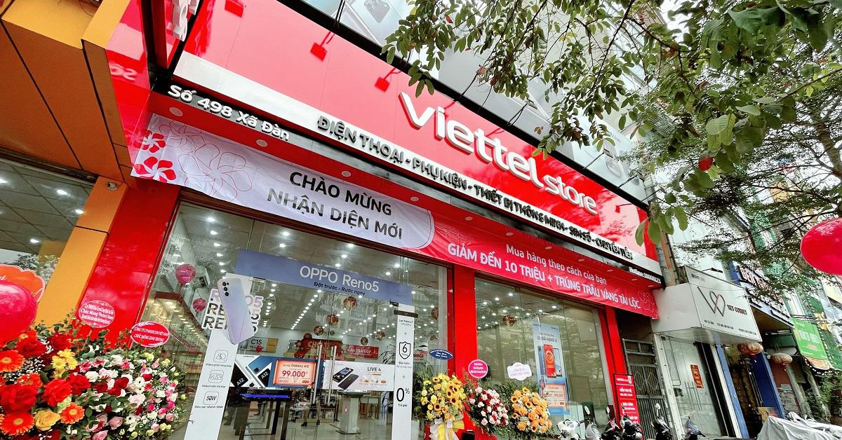Trẻ trung, tươi mới là điều mà ai cũng thấy khi Viettel Store thay đổi nhận diện thương hiệu mới - Ảnh 1.