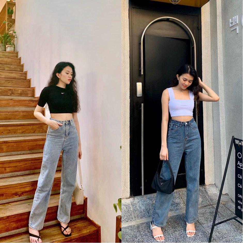 """F5 phong cách năng động cá tính với bộ đôi quần jeans mix áo crop top cùng shop thời trang """"đình đám"""" Đà thành - Ảnh 6."""