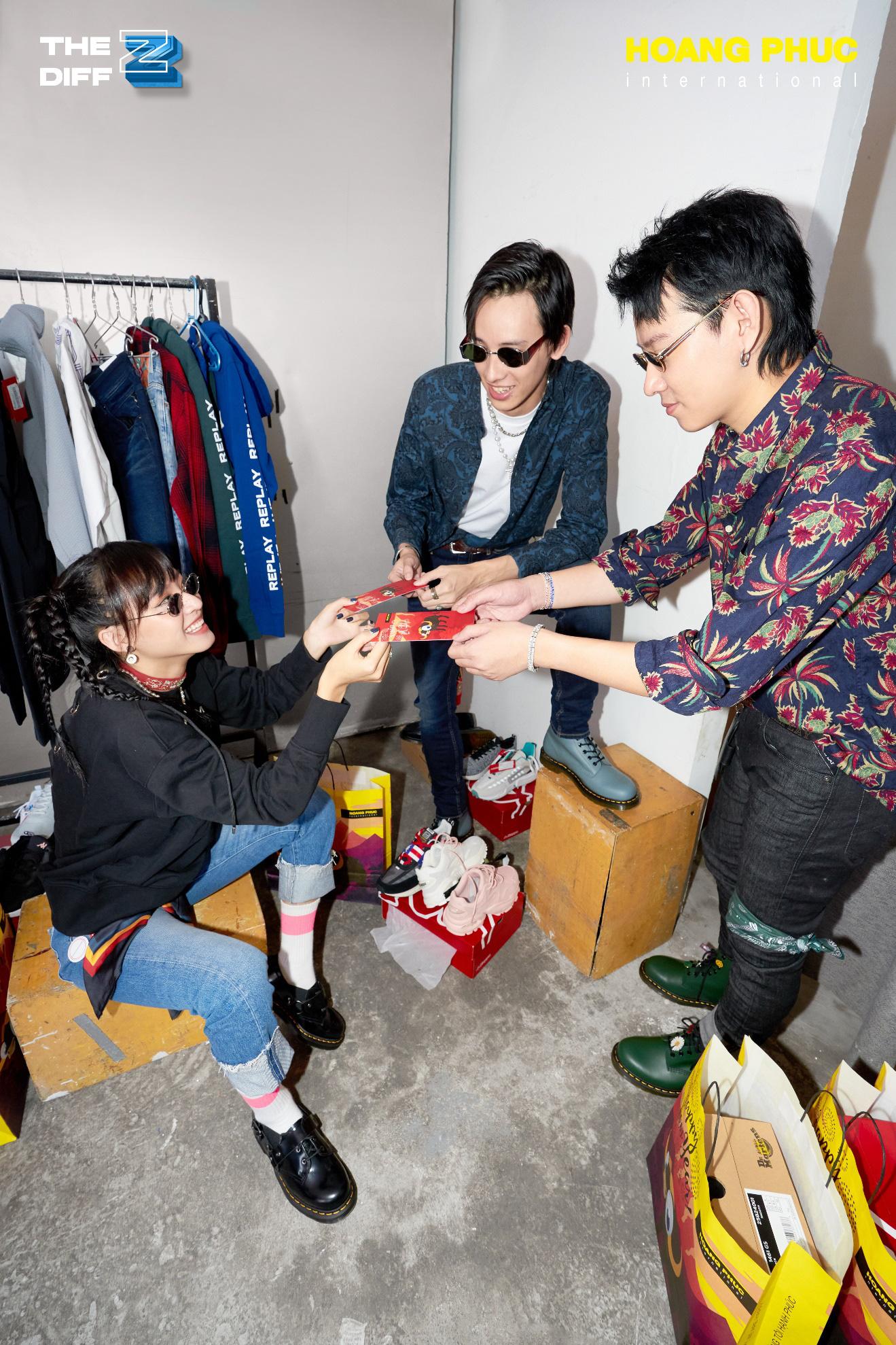 Tự tin và khác biệt cùng THE DIFF Z - Bộ ảnh thời trang Tết Tân Sửu 2021 từ HOANG PHUC International hợp tác cùng stylist của Binz - Ảnh 8.