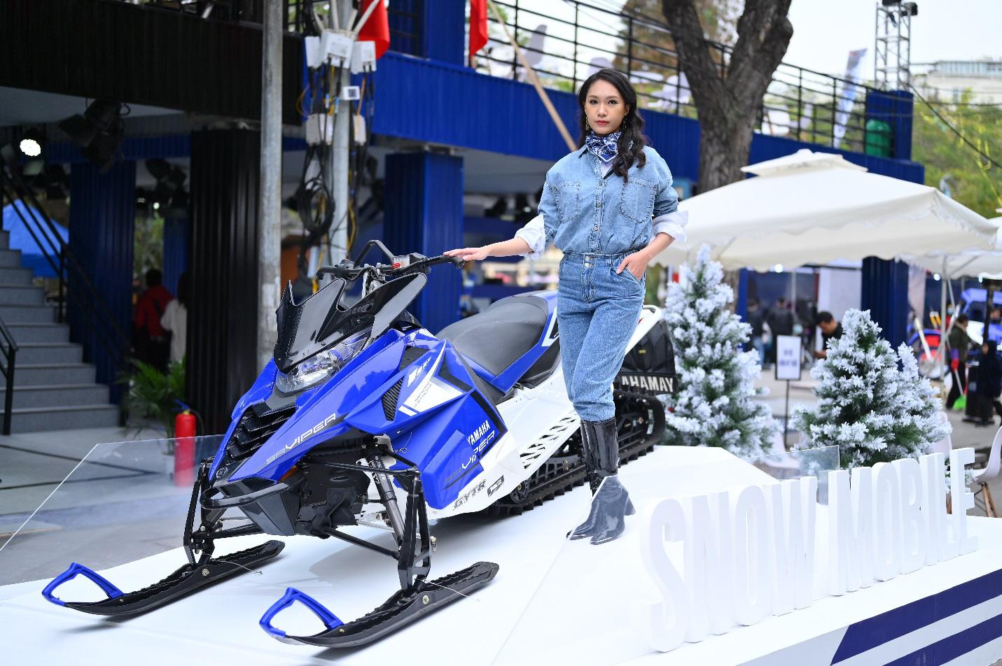 Yamaha Motor tiên phong tạo ra triển lãm motor show theo phong cách riêng chưa từng có tại Việt Nam - Ảnh 4.