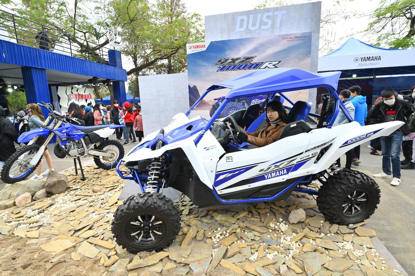 Yamaha Motor tiên phong tạo ra triển lãm motor show theo phong cách riêng chưa từng có tại Việt Nam - Ảnh 5.