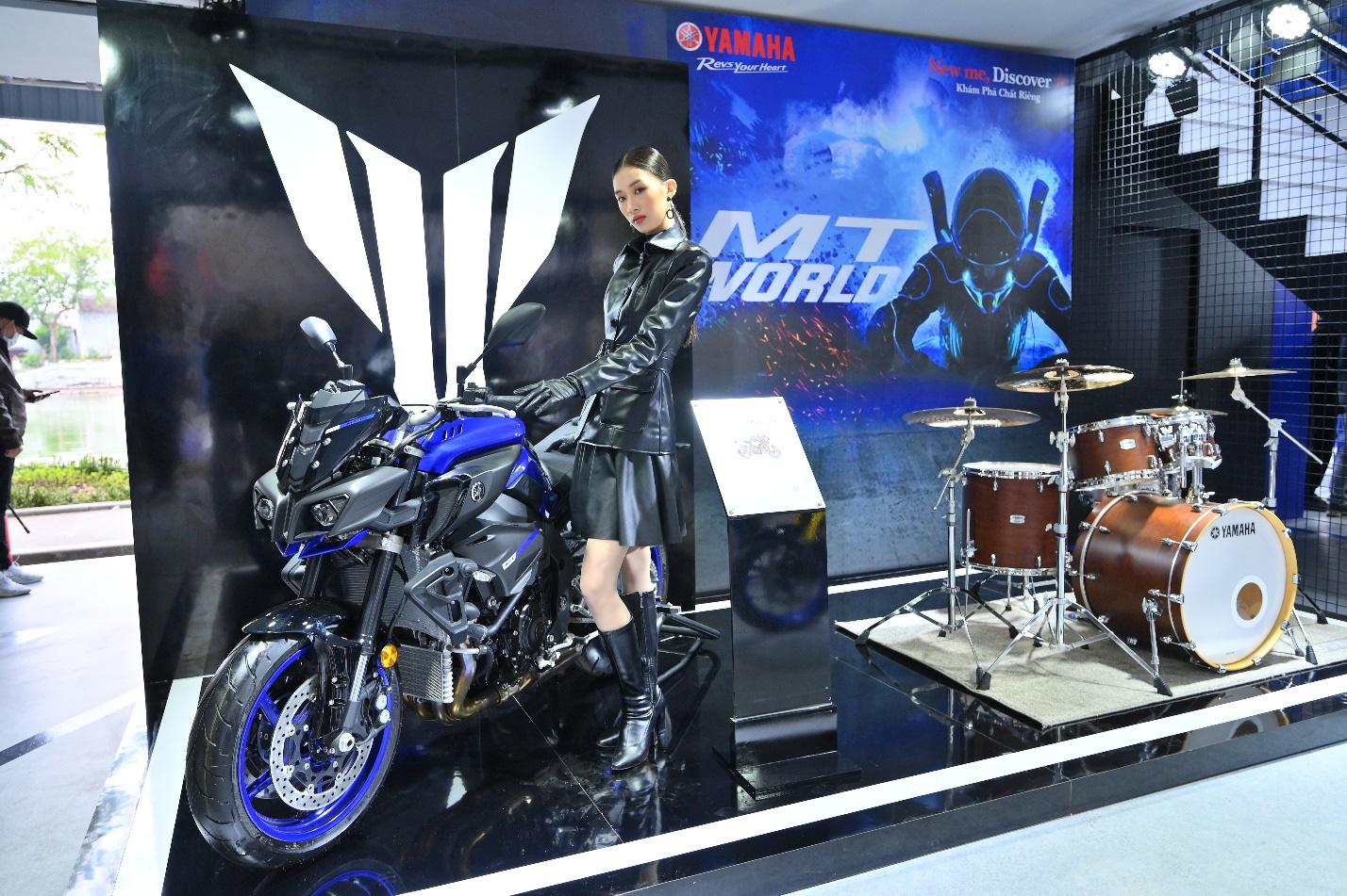 Yamaha Motor tiên phong tạo ra triển lãm motor show theo phong cách riêng chưa từng có tại Việt Nam - Ảnh 7.