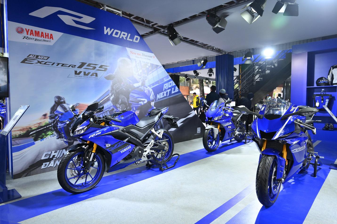 Yamaha Motor tiên phong tạo ra triển lãm motor show theo phong cách riêng chưa từng có tại Việt Nam - Ảnh 9.