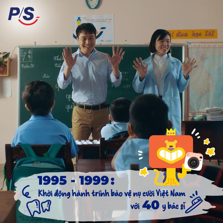 P/S và hành trình 2 thập kỷ bảo vệ nụ cười Việt Nam - Ảnh 1.