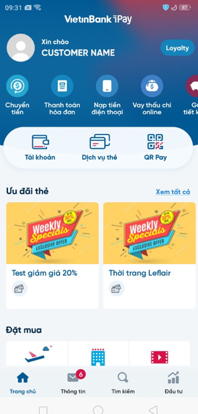 Đăng ký tài khoản số đẹp ngay trên ứng dụng VietinBank iPay Mobile: Giảm phí lên đến 50% - Ảnh 1.