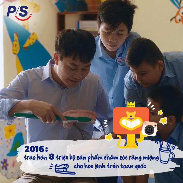 P/S và hành trình 2 thập kỷ bảo vệ nụ cười Việt Nam - Ảnh 4.
