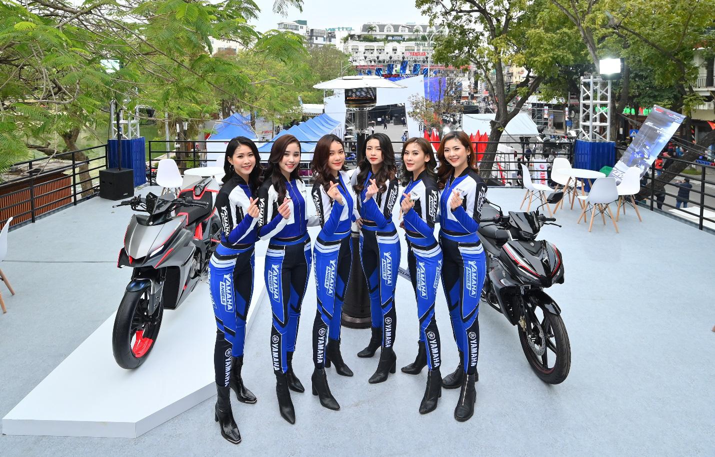 Yamaha Motor tiên phong tạo ra triển lãm motor show theo phong cách riêng chưa từng có tại Việt Nam - Ảnh 8.