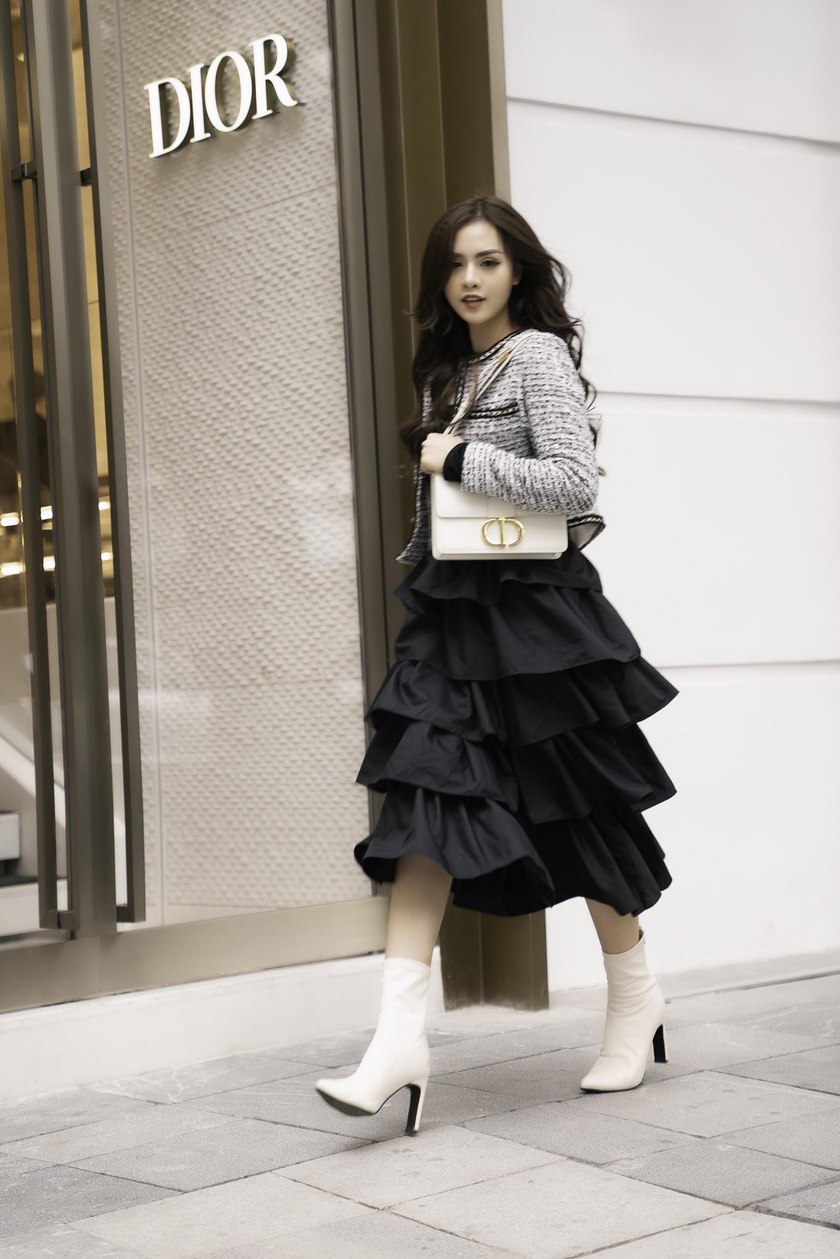Gặp gỡ cô nàng sinh viên năm 2 trường Báo đang được nhiều brand thời trang săn đón - Ảnh 5.