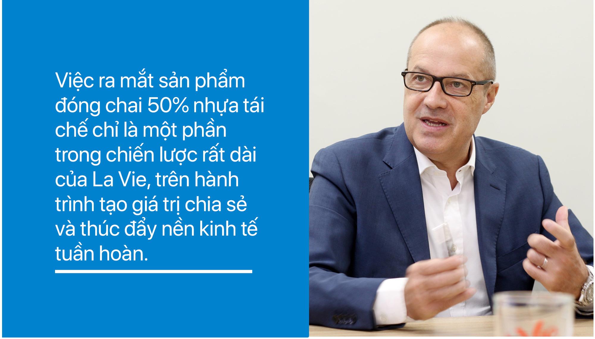 Tổng Giám đốc La Vie: Công ty hàng đầu không phải quy mô lớn hay nhỏ, mà phải can đảm đi đầu, mở đường thúc đẩy nền kinh tế tuần hoàn - Ảnh 16.