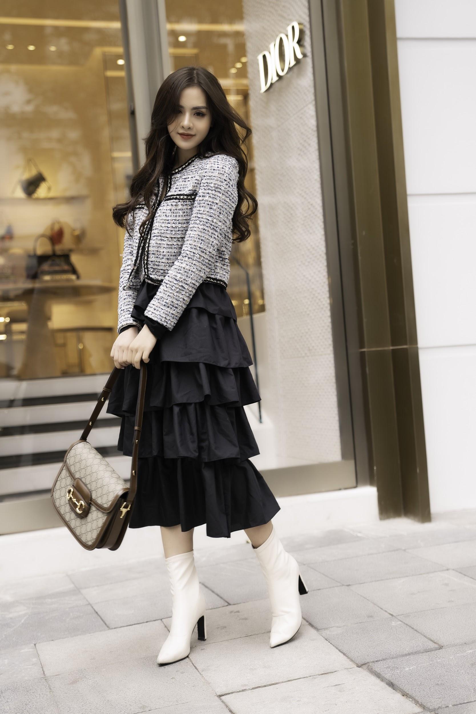 Gặp gỡ cô nàng sinh viên năm 2 trường Báo đang được nhiều brand thời trang săn đón - Ảnh 3.