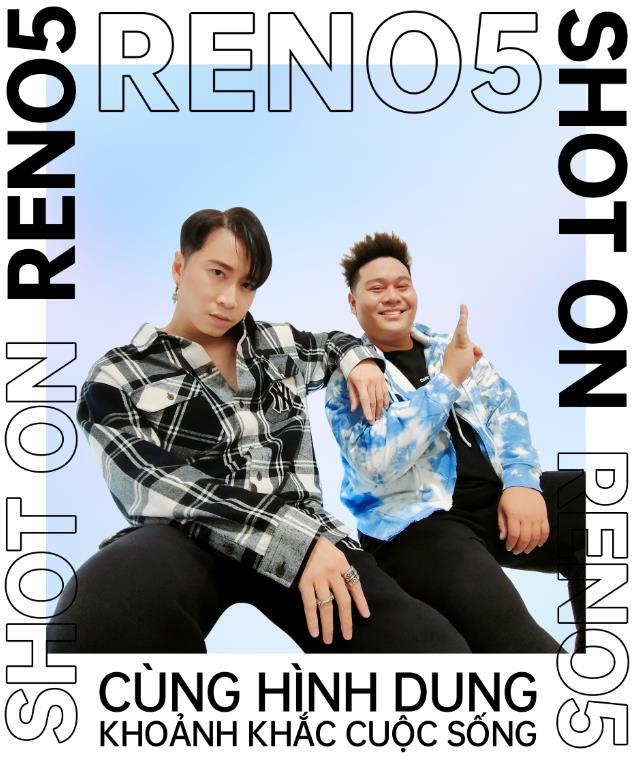 """OPPO Reno5 xuất hiện cùng hai thầy trò Karik - Yuno Bigboi, tạo nên những khoảnh khắc ngẫu hứng vô cùng """"xịn xò""""! - Ảnh 5."""
