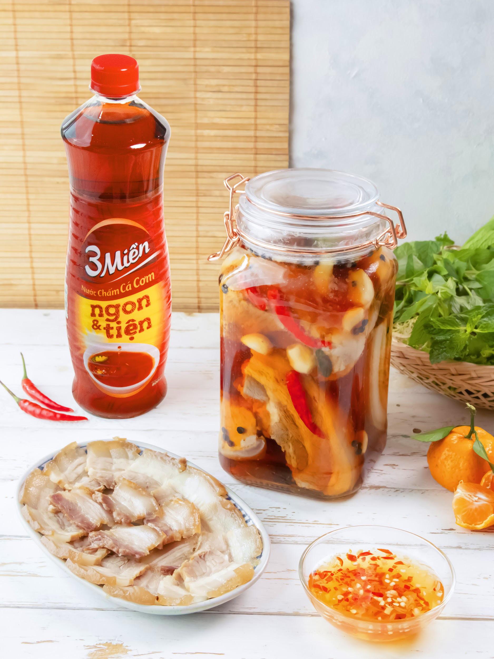 Chống ngấy ngày Tết cực đơn giản với công thức thịt heo ngâm mắm ngon hết sảy từ Helens Recipes - Ảnh 5.