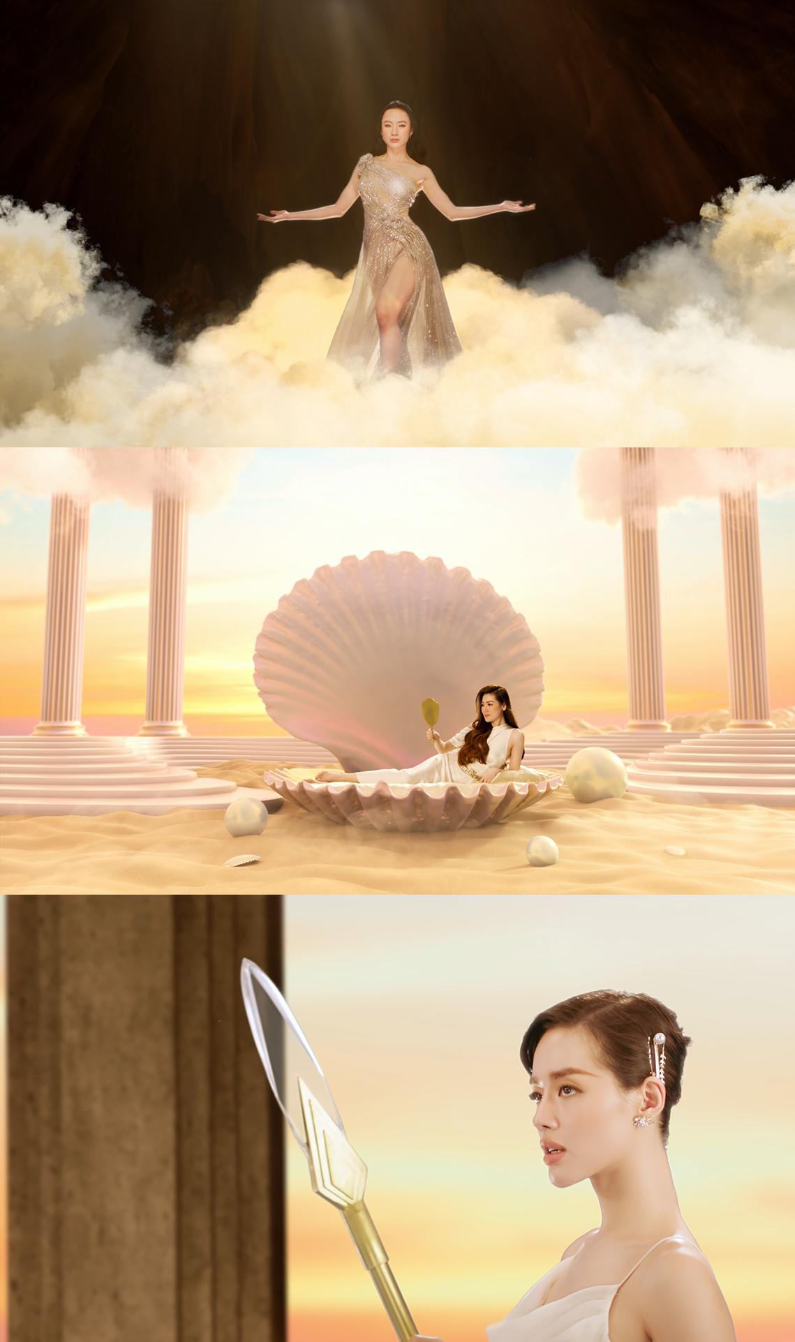 """Angela Phương Trinh chính thức trở lại, cạnh tranh """"nhan sắc nữ thần cùng Tú Anh và Khánh Linh - Ảnh 2."""