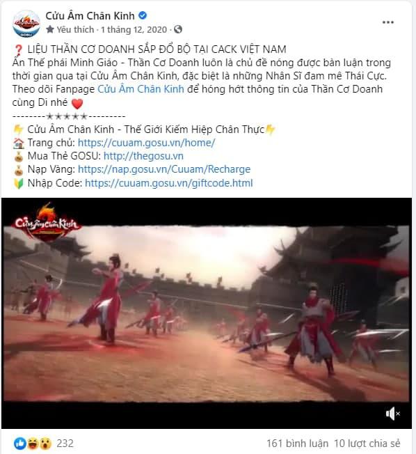 """Cửu Âm Chân Kinh: """"Ông hoàng"""" game PC tại Việt Nam - Ảnh 7."""