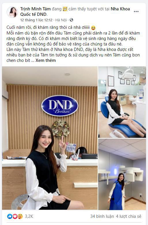 """Không hẹn mà gặp, dàn hot face Hà Nội đều đang tụ tập """"tân trang"""" hàm răng tại nơi này - Ảnh 3."""