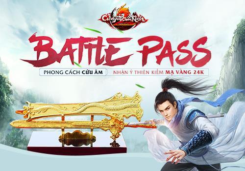 """NPH GOSU còn chơi lớn, tổ chức tranh đoạt Ỷ Thiên Kiếm mạ vàng trong sự kiện """"Battle Pass phong cách Cửu Âm"""" Photo-1-16107644760501948305828"""