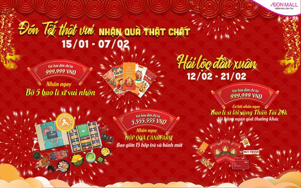 Tưng bừng sự kiện mừng xuân Tân Sửu tại AEON MALL Bình Tân - Ảnh 2.