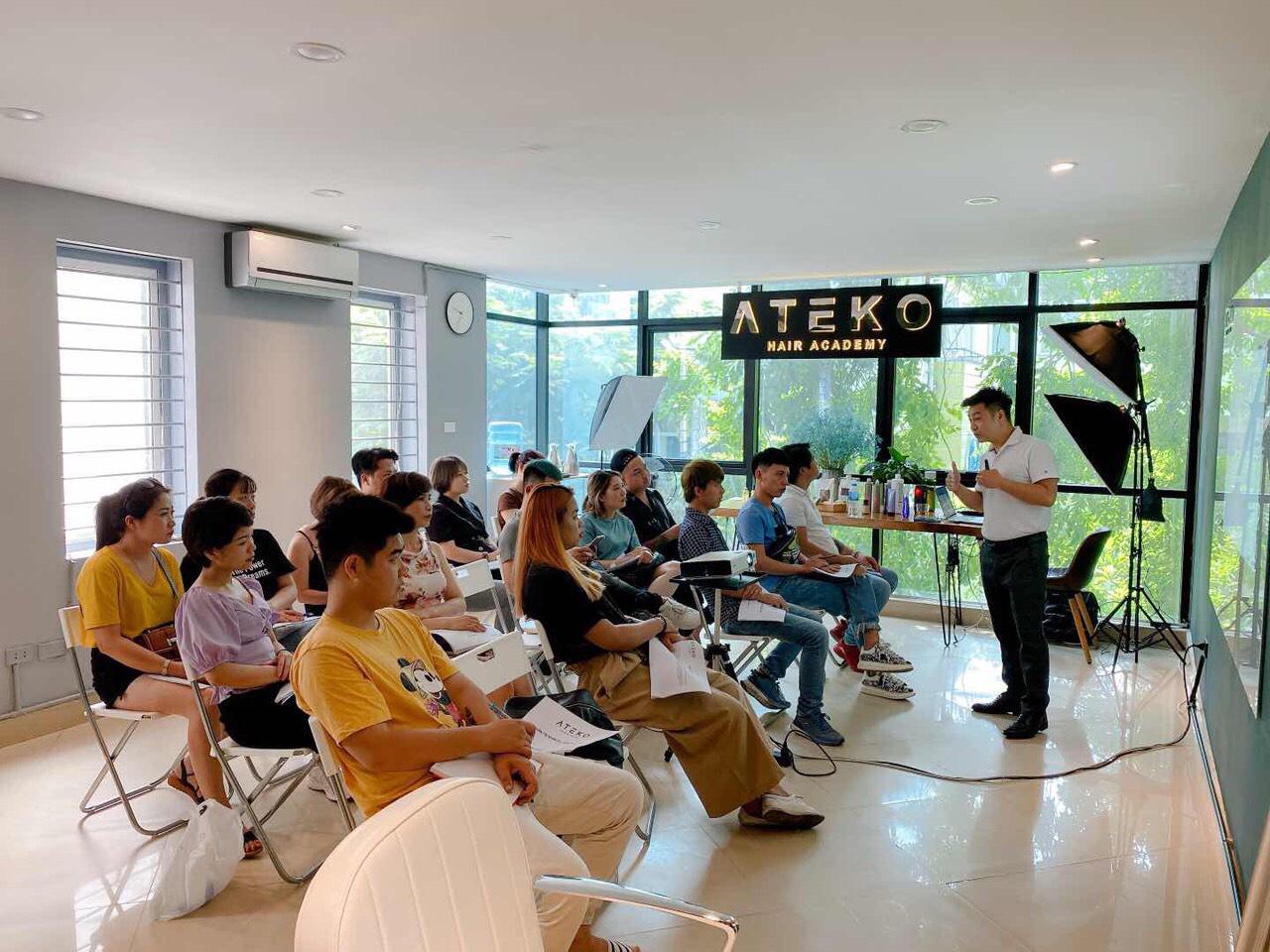 Ateko hair Academy - nơi sở hữu đường kéo sạch hàng đầu Việt Nam - Ảnh 3.