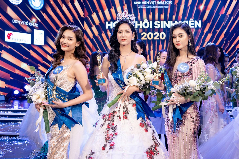 Cận cảnh vương miện Hoa khôi Sinh viên Việt Nam vừa được trao: Vàng hồng 10k và ngọc trai quý giá - Ảnh 1.