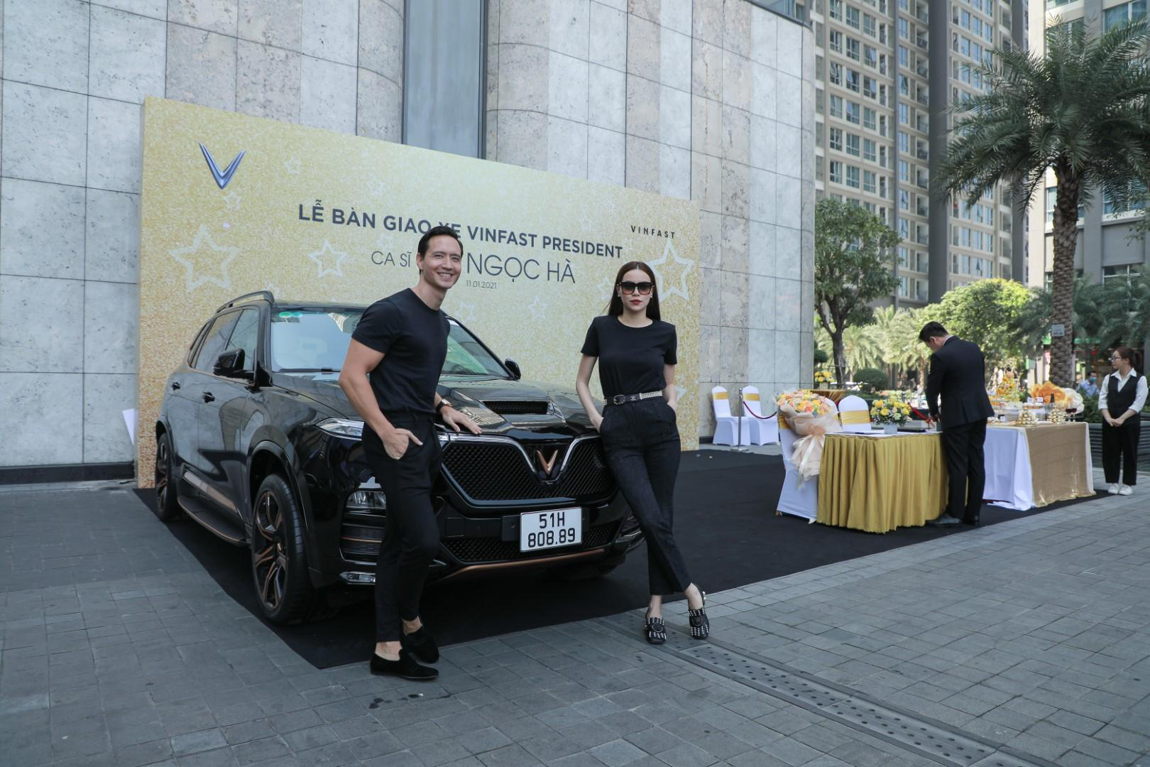 Hà Hồ và Kim Lý tiếp tục ủng hộ thương hiệu Việt khi sở hữu thêm VinFast President - Ảnh 3.