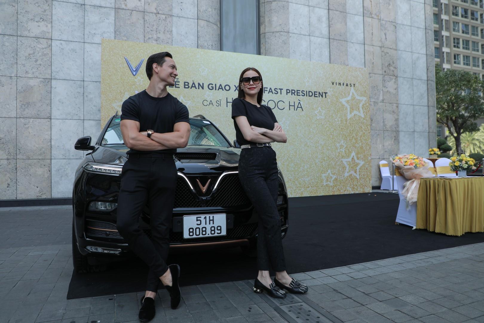 Hà Hồ và Kim Lý tiếp tục ủng hộ thương hiệu Việt khi sở hữu thêm VinFast President - Ảnh 4.