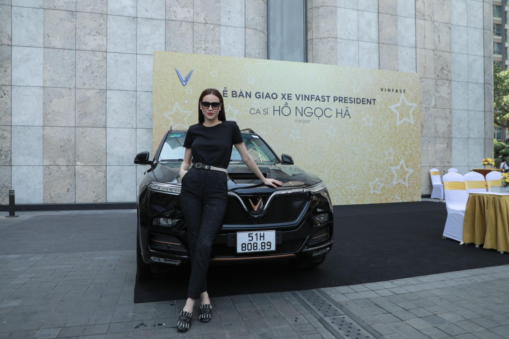 Hà Hồ và Kim Lý tiếp tục ủng hộ thương hiệu Việt khi sở hữu thêm VinFast President - Ảnh 8.
