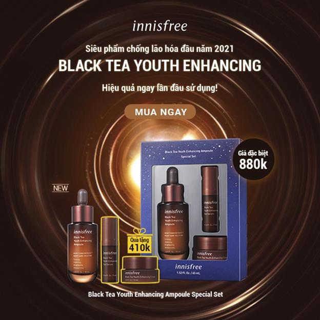 """""""Bắt bệnh"""" làn da cuối năm với quy trình skincare chiết xuất trà đen lên men chuẩn không cần chỉnh - ảnh 6"""