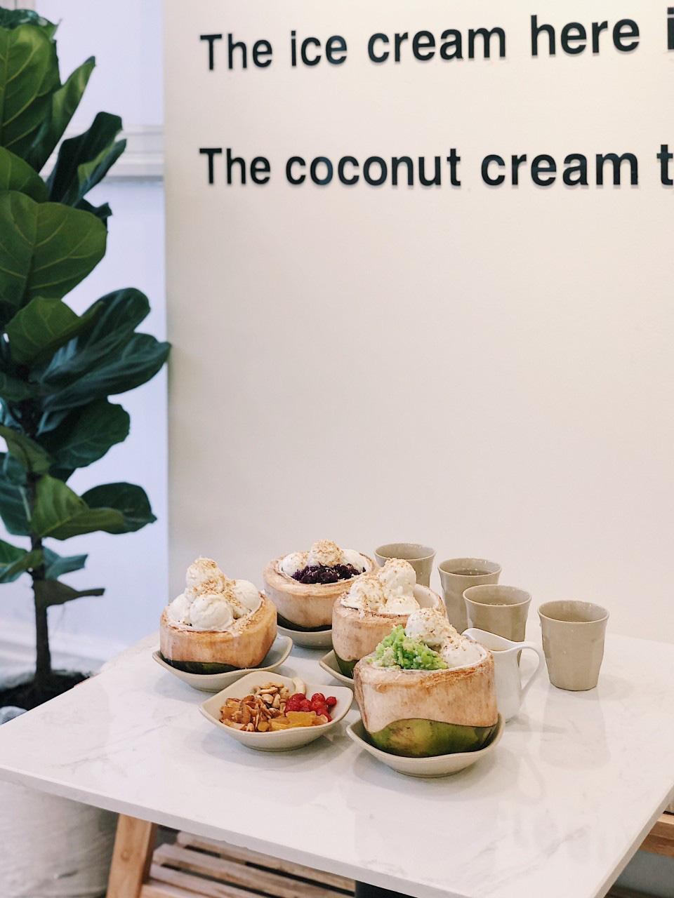 Xuất hiện kem dừa trân châu cốt dừa tạo trend rần rần đầu năm 2021 - Ảnh 3.
