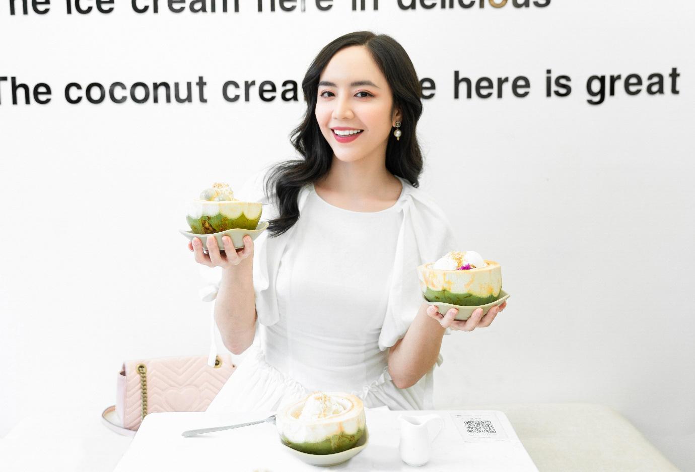 Xuất hiện kem dừa trân châu cốt dừa tạo trend rần rần đầu năm 2021 - Ảnh 4.
