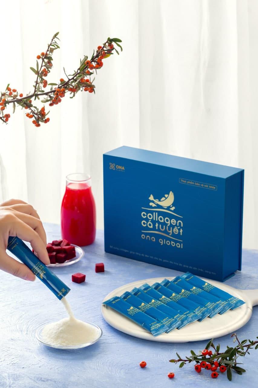 """Review từ A - Z về TPBVSK Collagen Cá Tuyết ONA Global """"nổi đình đám"""" có đáng để đầu tư? - Ảnh 2."""