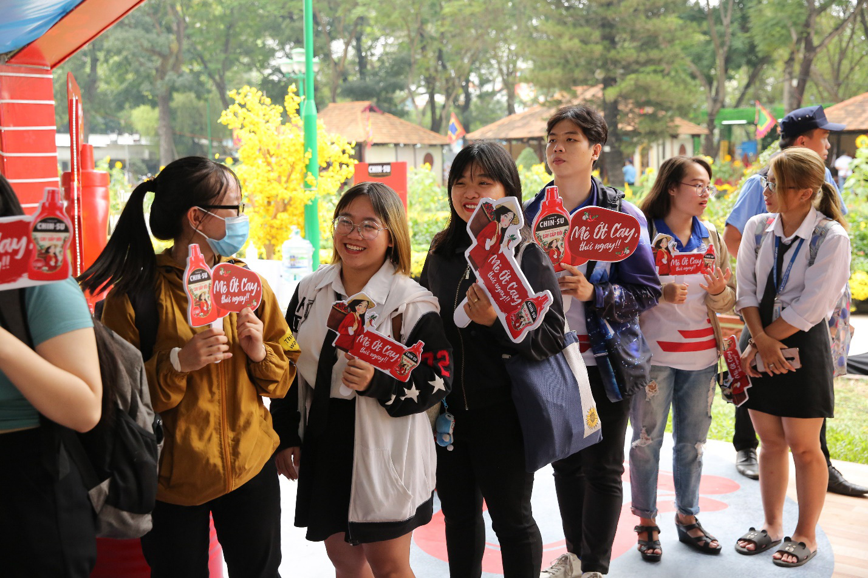 Giới trẻ rần rần check-in gian hàng Tết của CHIN-SU tại Lễ Hội Tết Việt 2021 - Ảnh 5.