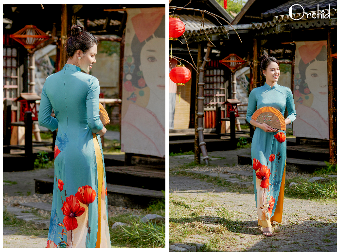 Auto xinh gái khi diện áo dài Orchid đón Tết Tân Sửu - Ảnh 6.