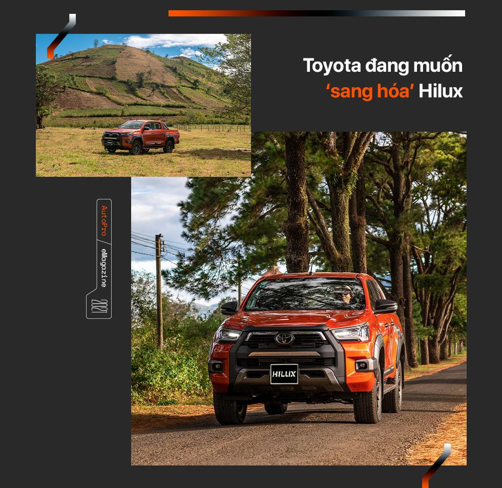 Toyota Hilux mới - Khi 'giá trị cốt lõi' khoác áo mới - Ảnh 10.