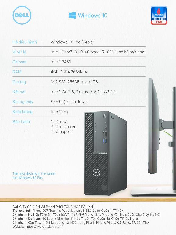 Cấu hình linh hoạt, tối ưu năng suất cùng Dell Optiplex - Ảnh 1.