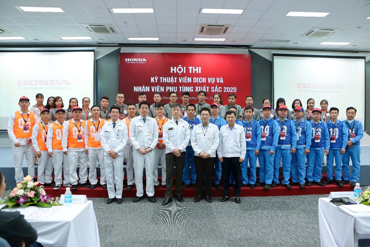 Honda Việt Nam tổ chức vòng chung kết Hội thi kỹ thuật viên dịch vụ và nhân viên phụ tùng xuất sắc 2020 - Ảnh 1.