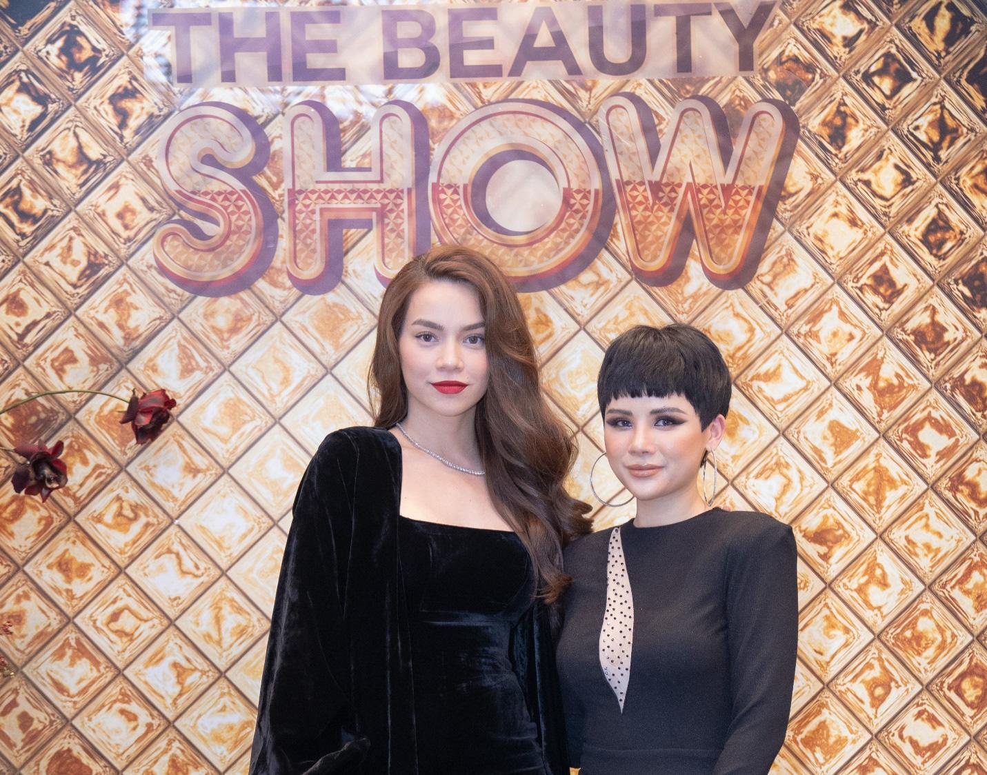 """Hà Hồ hội ngộ DJ Kuns tại """"The Beauty show"""" - Ảnh 1."""