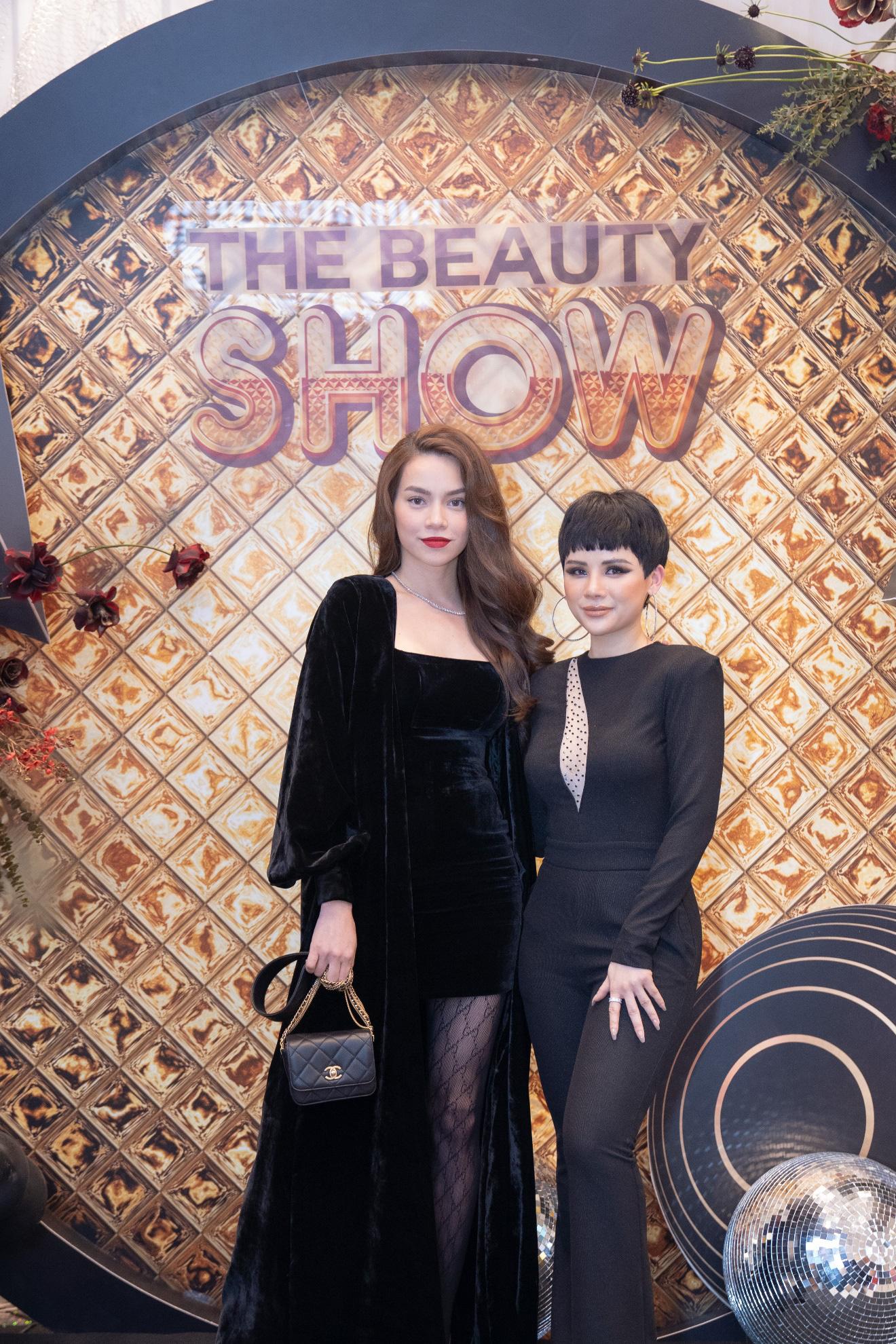"""Hà Hồ hội ngộ DJ Kuns tại """"The Beauty show"""" - Ảnh 2."""